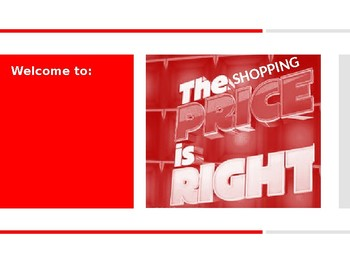 The Shopping Price is Right