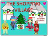 Christmas Shopping Village (Money Activities)