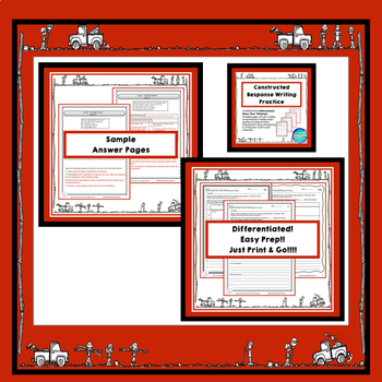 ACED Short Constructed Response Acronym Resource & Rubrics