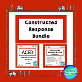 Constructed Response ACED Writing Practice Bundle
