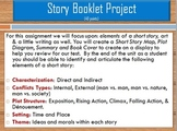 The Short Story Booklet Project