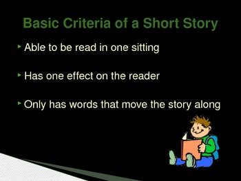 The Short Story Power Point Presentation