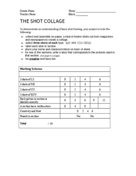 The Shot Collage