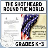 The Shot Heard Round the World American History Lesson #22 - Homeschool/K-3