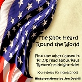 The Shot Heard Round the World American History for Homeschool and Grades K-3