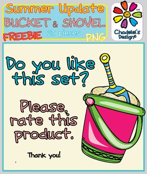The Shovel in the Bucket FREEBIE Clips [Happy Summer Clips Updated]