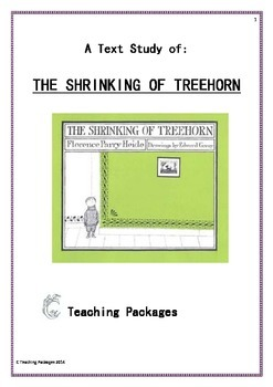 The Shrinking of Treehorn Text Study