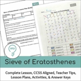 The Sieve of Eratosthenes Complete Lesson