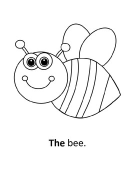 """""""The"""" Sight Word Coloring Book"""