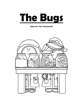 """The"" Sight Word Coloring Book"