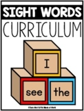 The Sight Word Curriculum |3,500 GOOGLE™ READY SLIDES|  Ho