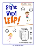 The Sight Word LEAP! - Pre-Primer Edition
