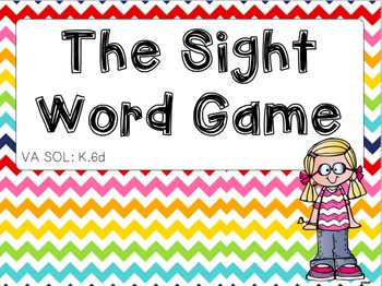 The Sight Word Name Game