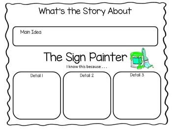 The Sign Painter   by Allen Say  ~  44 pages of Common Core Activities
