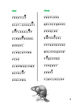 The Sign of the Beaver: 6 Cryptocategory Word Puzzles—Unique!