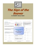 The Sign of the Beaver Complete Literature and Grammar Unit