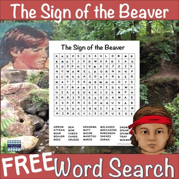 The Sign of the Beaver Free Word Search