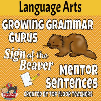 The Sign of the Beaver Mentor Sentences