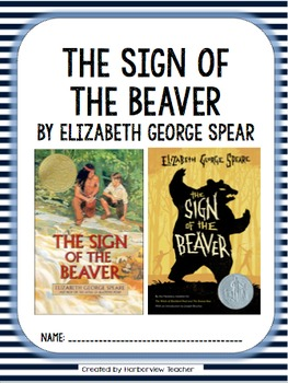 The Sign of the Beaver Comprehension Packet