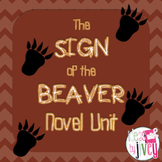 The Sign of the Beaver Novel Unit