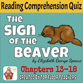 The Sign of the Beaver Quiz Chapters 13-18