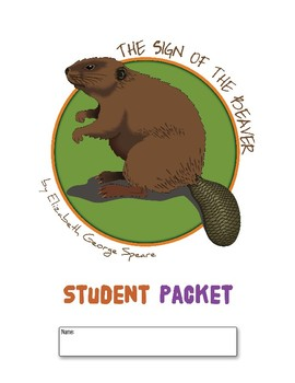 The Sign of the Beaver Reading Novel Study Literature Circle Packet