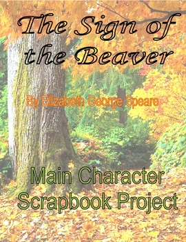 The Sign of the Beaver Scrapbook Project