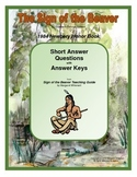 The Sign of the Beaver Short Answer Questions with Answer Keys