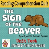 The Sign of the Beaver Unit Test