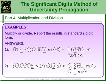 Significant Figures Presentation