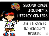The Signmaker's Assistant Journey's Literacy Centers - Second Grade Lesson 19