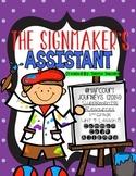 The Signmaker's Assistant (Journeys 2nd Grade - Supplemental Materials)