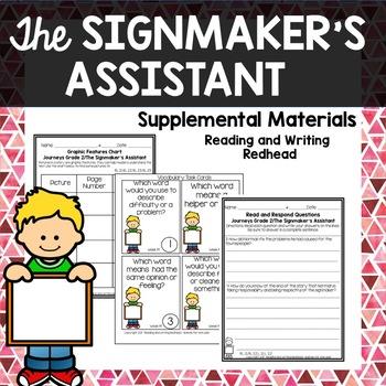 The Signmaker's Assistant - Journeys Second Grade Week 19