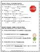 The Signmaker's Assistant ~ Language Arts Test ~ 2nd Grade ~ HMH Journeys