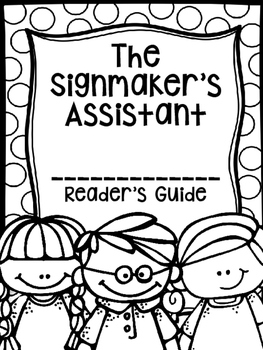 The Signmaker's Assistant (Second Grade Reading Street Lesson 25)