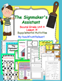The Signmaker's Assistant (Journeys Second Grade Unit 4 Lesson 19)
