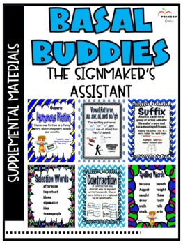 The Signmaker's Assistant -Reading Street (2013) 2nd Grade