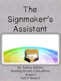 The Signmaker's Assistant Reading Street 5.5