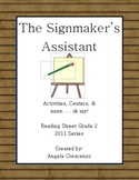 The Signmaker's Assistant Reading Street Grade 2 2011 & 2013 Series