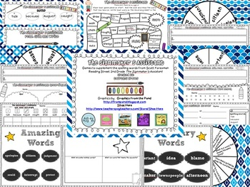 The Signmaker's Assistant Spelling and Vocabulary Games