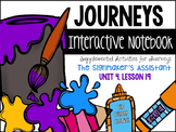 The Signmaker's Assistant Unit 4, Lesson 19 Journeys Print & Go