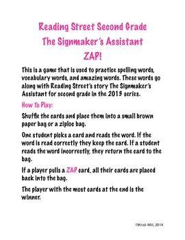 The Signmaker's Assistant ZAP