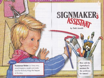 """The Signmaker's Assistant"" brought to life through animations"