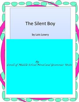 The Silent Boy Literature and Grammar Unit