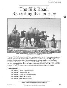 The Silk Road: DBQ