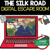 The Silk Road Digital Escape Room, Breakout Room Test Prep, Distance Learning