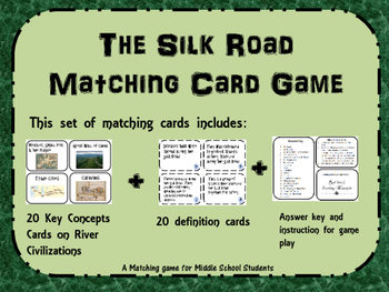 The Silk Road Matching Game