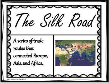 The Silk Road Word Wall