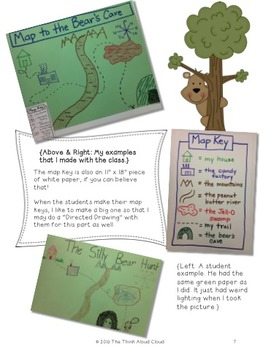 The Silly Bear Hunt: Map Skills with a Literacy Twist! (Writing Activities)