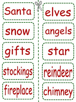 The Silly Christmas Word Game for Grades 2-5